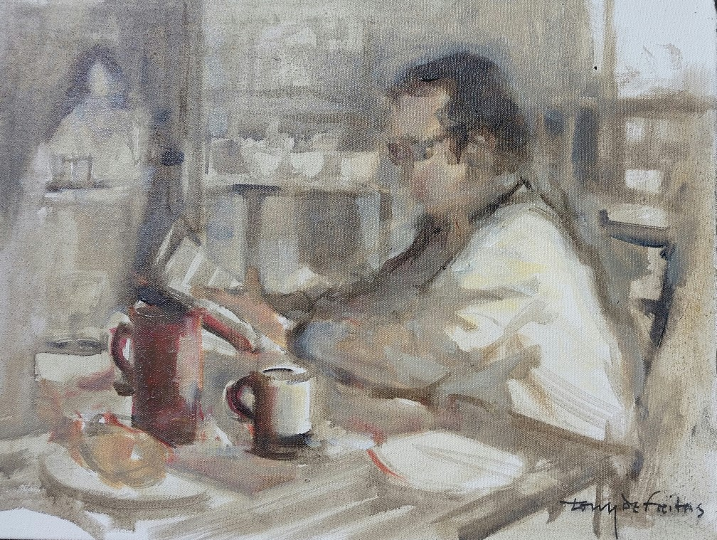 2746S 30x40cm The Coffee Shop